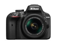 Nikon D3400 Digital SLR with a 18-55mm Lens Kit