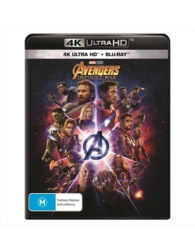 Avengers: Infinity War on UHD Blu-ray image