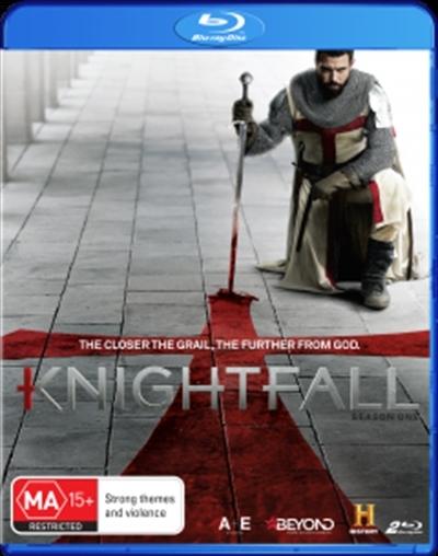 Knightfall: Season 1 on Blu-ray