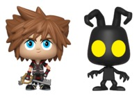 Kingdom Hearts III: Sora + Heartless - Vynl. Figure 2-Pack