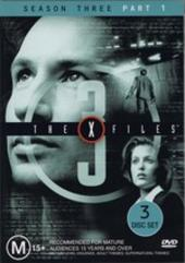 X-Files, The Season 3: Part 1 (3 Disc) on DVD
