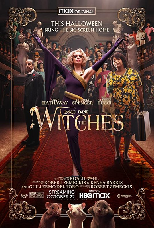 The Witches (2020) on DVD