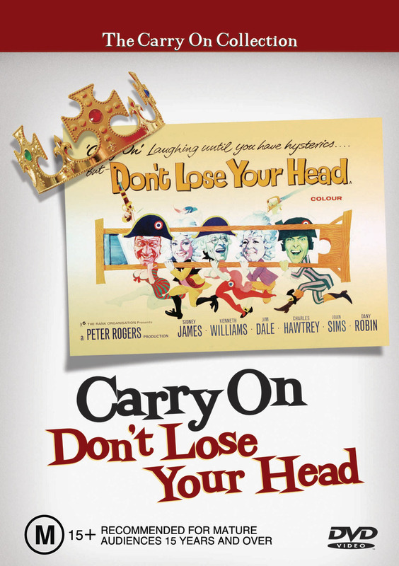 Carry On Don't Lose Your Head on DVD