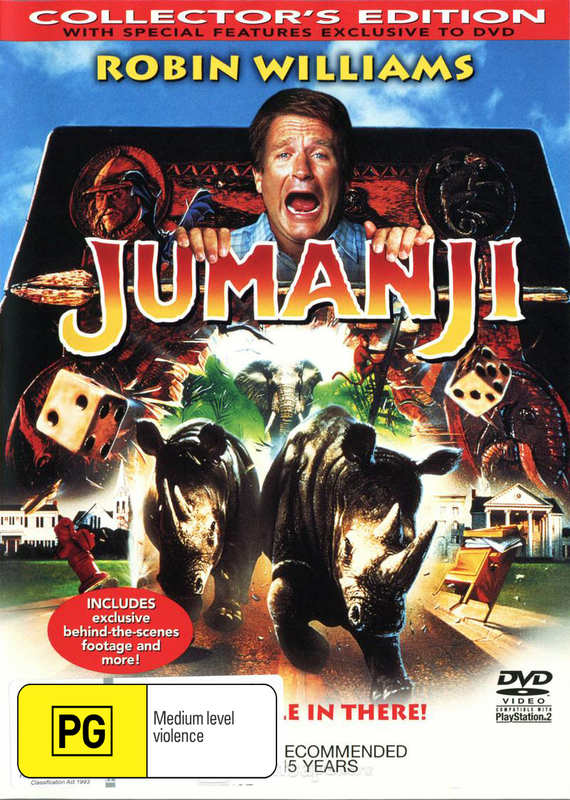 Jumanji Collector's Edition on DVD