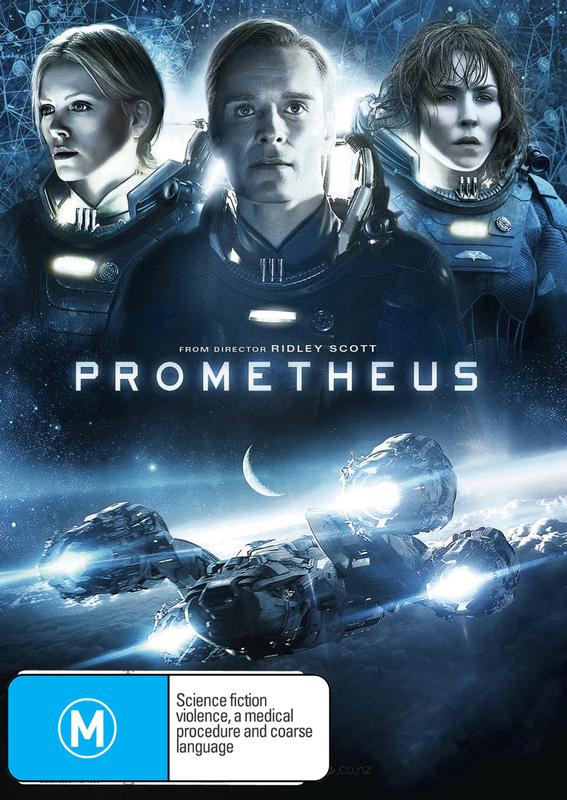 Prometheus on DVD