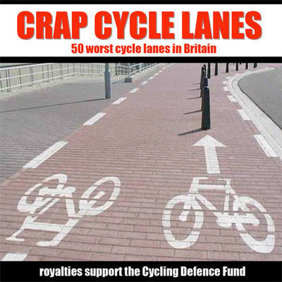 Crap Cycle Lanes by Warrington Cycle Campaign image
