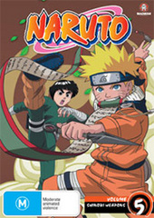 Naruto (Uncut) - Vol. 05: Shinobi Weapons on DVD