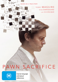 Pawn Sacrifice on DVD