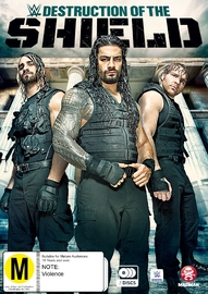 WWE - The Destruction Of The Shield on DVD image