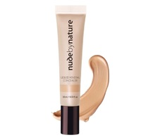 Nude By Nature: Liquid Mineral Concealer - Medium (10ml)
