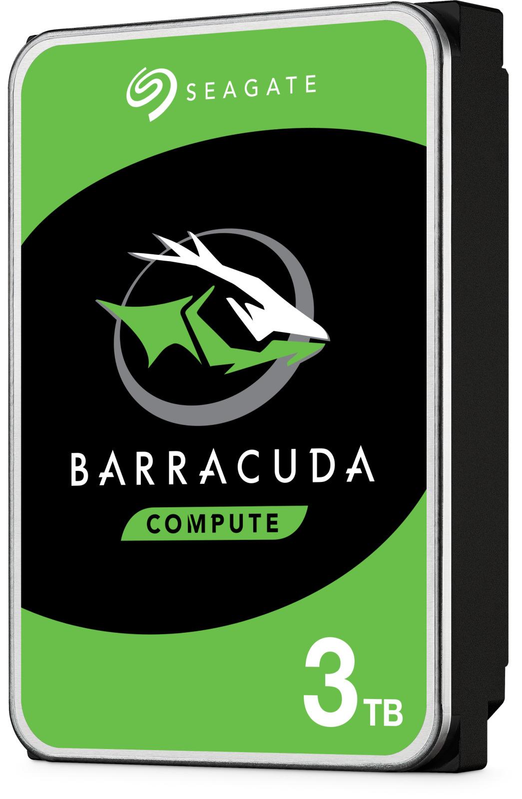 3TB Seagate BarraCuda HDD image