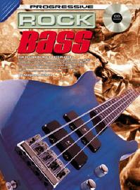 Progressive Rock Bass: CD Pack by Richter image