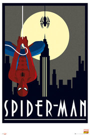 Marvel Retro Spider-Man Maxi Wall Poster (529)