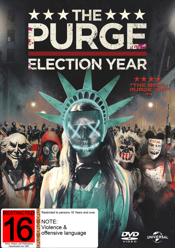 The Purge 3: Election Year on DVD
