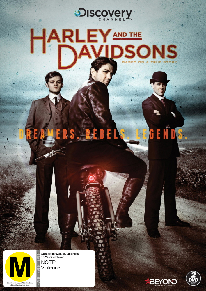 Harley & The Davidsons on DVD image