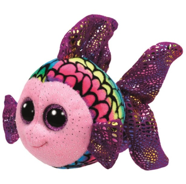 Ty Beanie Boo: Flippy Multi Fish - Small Plush