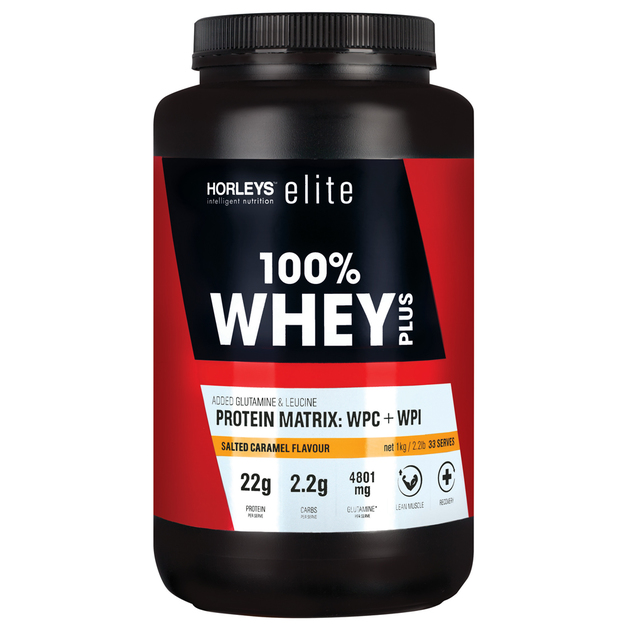 Horleys 100% Whey Plus - Caramel (1kg)