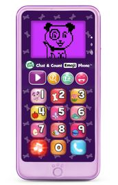Leapfrog: Chat & Count Smart Phone - Violet
