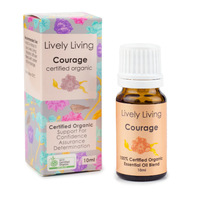 Organic Essential Oil Blend - Courage (10ml)