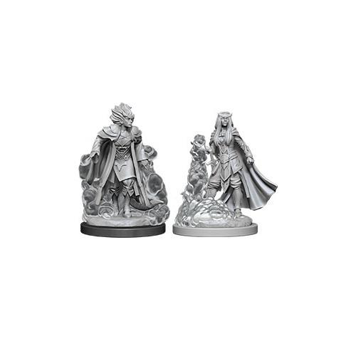 D&D Nolzur's Marvelous: Unpainted Miniatures - Female Tiefling Sorcerer