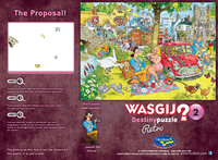 Wasgij: 500 Piece XL Puzzle - Retro Wasgij Destiny #2 (The Proposal)