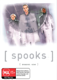 Spooks - Season 1 (3 Disc Set) on DVD image