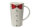 Maxwell & Williams - Christopher Vine The Gentleman Conical Mug - White (420ml)