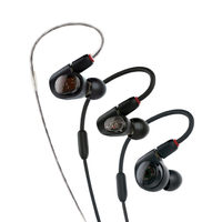 Audio-Technica ATHE50 Professional In-Ear Monitor Headphones