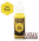 Babe Blonde Warpaint