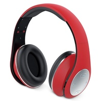 Genius HS-935BT Bluetooth Headphones Red