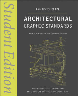 Architectural Graphic Standards by Charles George Ramsey