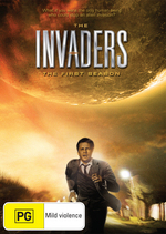 The Invaders: Season 1 - 5 Disc Set (1967) on DVD