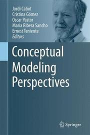 Conceptual Modeling Perspectives image