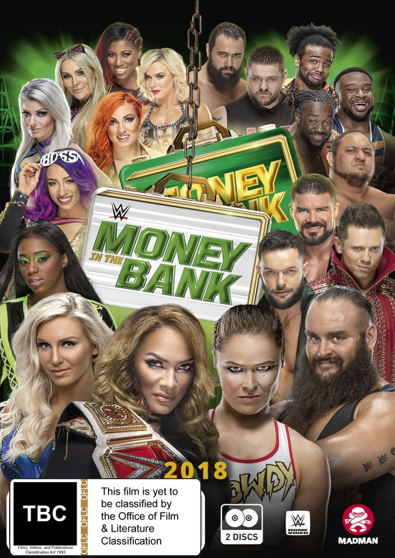 Wwe: Money In The Bank 2018 on DVD