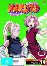 Naruto (Uncut) - Vol. 10: Surviving The Cut on DVD