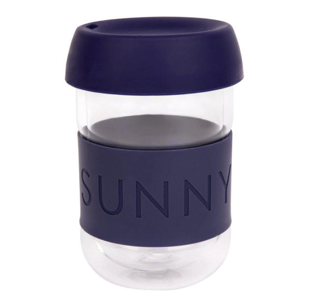 Sunnylife: Eco Coffee Cup - Navy Blue