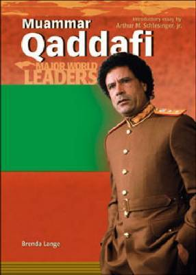 Muammar Qaddafi by Brenda Lange