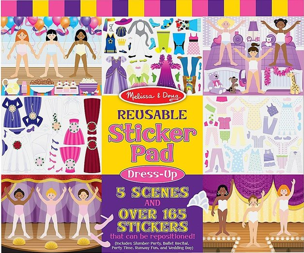 Melissa & Doug: Dress-Up Reusable Sticker Pad