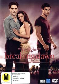 The Twilight Saga: Breaking Dawn - Part 1 (Single Disc) DVD