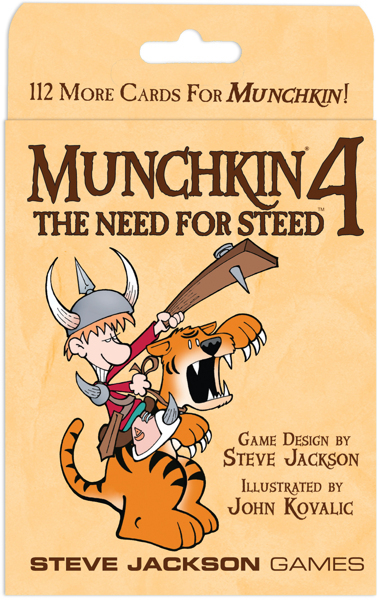 Munchkin 4: The Need for Steed Expansion image