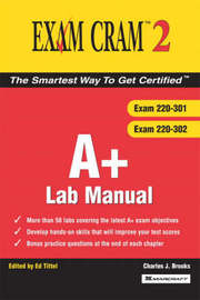 A+ Exam Cram 2 Lab Manual by Charles J Brooks image
