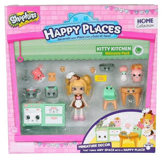 Shopkins: Happy Places - Kitty Kitschy Set | Toy | at ...