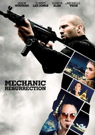 Mechanic: Resurrection DVD