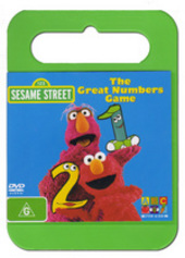 Sesame Street - The Great Numbers Game on DVD