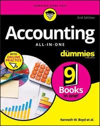 Accounting All-in-One For Dummies by Kenneth W Boyd