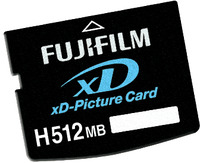 Fujifilm 1Gb xD Memory Card - H Type image