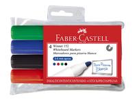 Faber-Castell: Whiteboard Marker 152 Bullet (Wallet of 4)