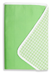 Brolly Sheets King Single Size Sheet Bed Pad - Lime