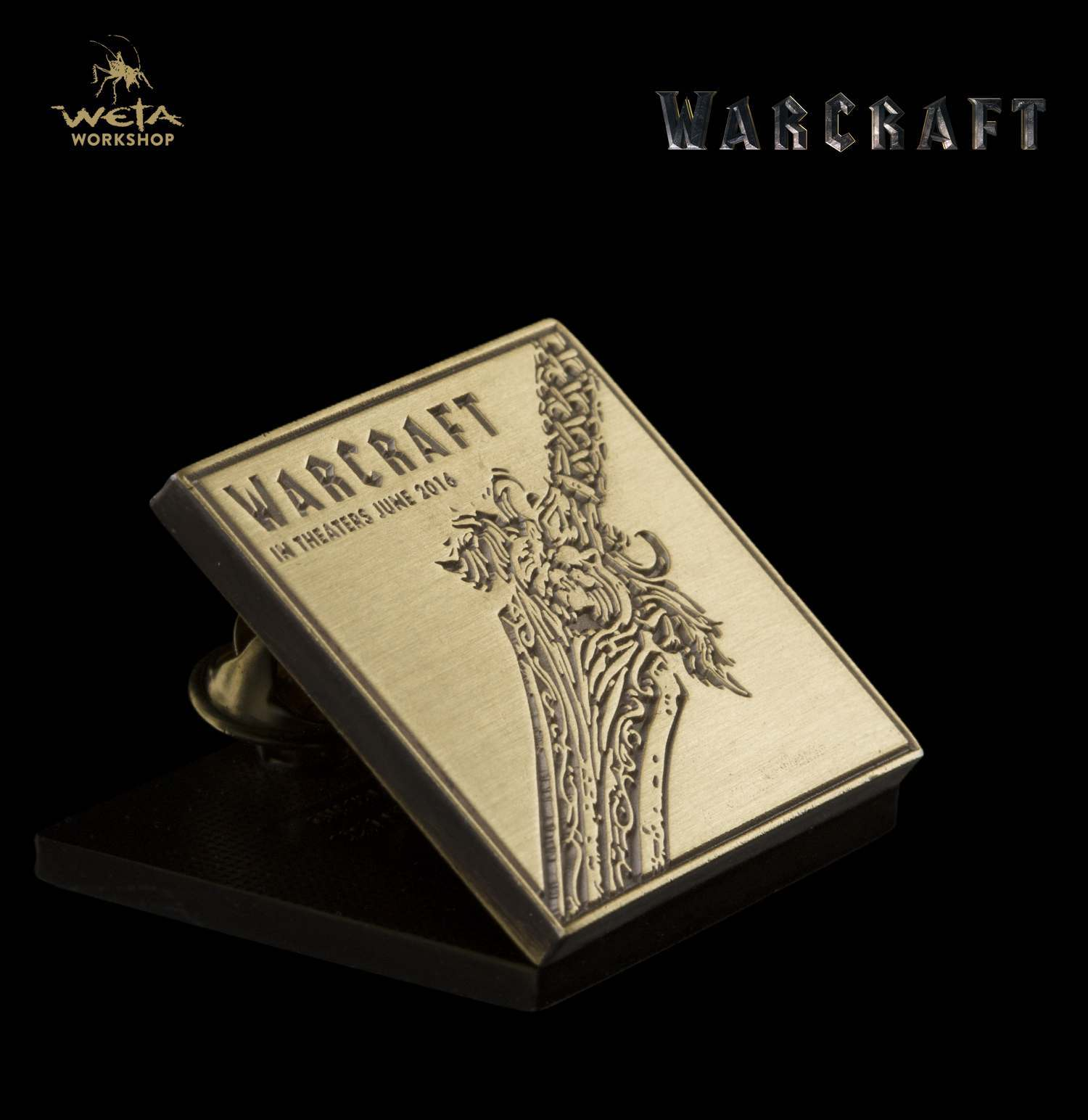 Warcraft Movie: Alliance Sword Collectible Pin image