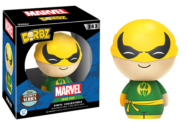 Marvel: Iron Fist Dorbz Vinyl Figure